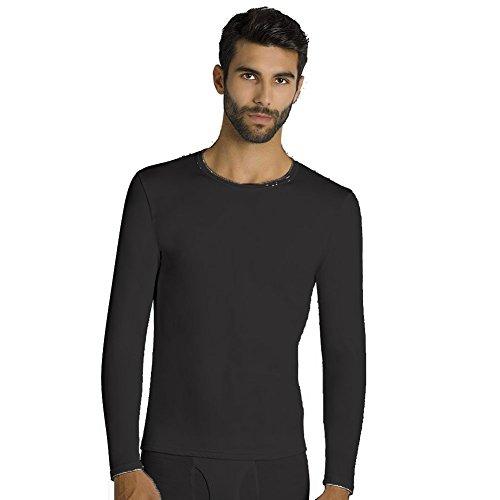 YSABEL MORA - Camiseta TERMICA Hombre Hombre Color: Negro Talla: Small