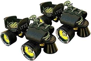 JASPO Tenacity ZXI Adjustable Roller Skates (Black)