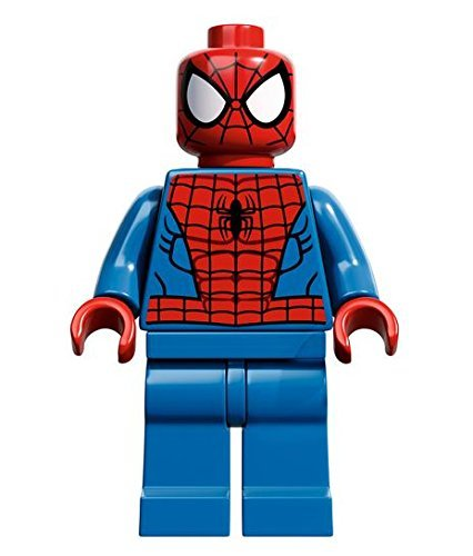 LEGO Super Heroes: Spiderman (Negro Web Pattern) Minifigura