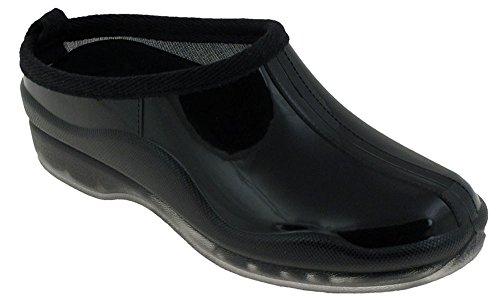 Capelli New York Shiny Solid Gardening Slip-On Basic Body Jelly Shoe Black 6