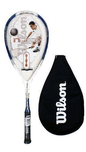 Wilson NCode NPower Squash-Schläger, Blau