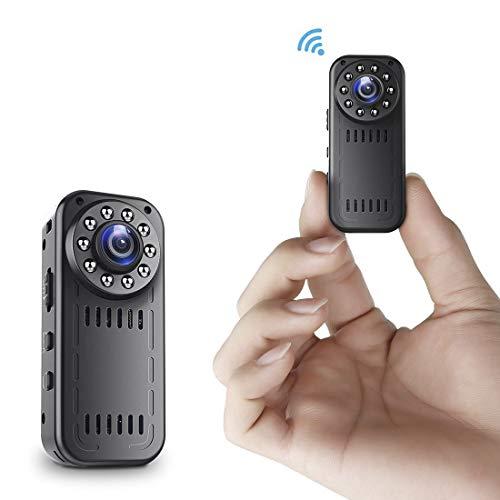ILS - L16 1080P 2MP Wifi Kamera Aufnahme 2 Stunden 30fps 160° Weitwinkel