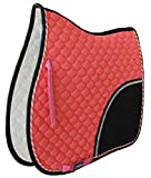 Tackus Horse Show All Purpose Quilted English Saddle PAD Trail Contoured 72F30