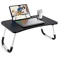 Rainbean Foldable Bed Tray Lap Table Dorm Desk