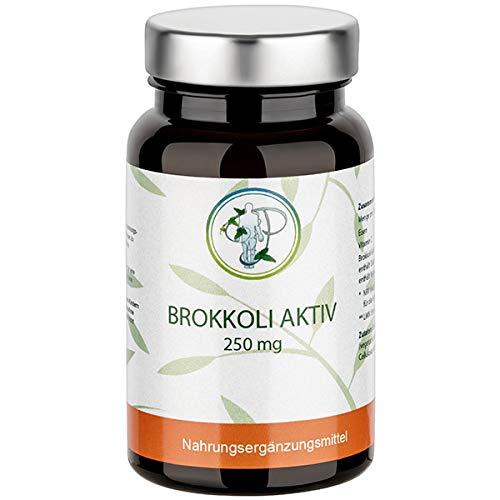 BROKKOLI Aktiv - Die konzentrierte Kraft des Brokkoli in einer Kapsel mit Brokkoli-Extrakt + Vitamin C + Eisen (60 Kapseln)