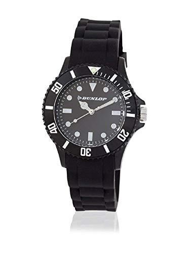 Dunlop Reloj Analógico para Unisex Adultos de Cuarzo con Correa en Caucho DUN185L01