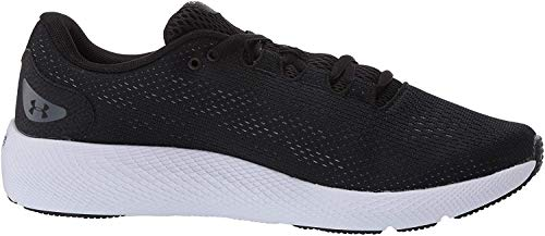 Under Armour UA W Charged Pursuit 2, Zapatillas de Running para Mujer, Negro (Black/White/White