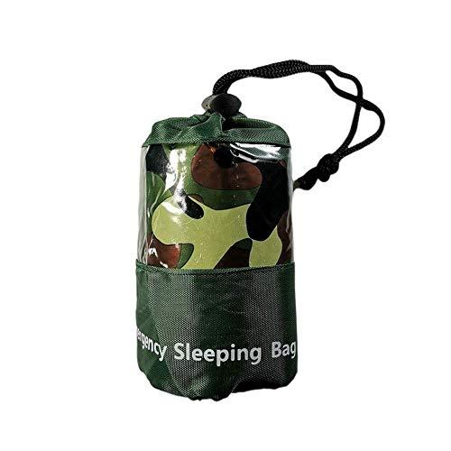 Dengofng Camouflage-Camping-Schlafsack für drinnen und draußen – kompakt für Camping, Wandern, Rucksackreisen, Reisen – ideal für Kinder, Jungen