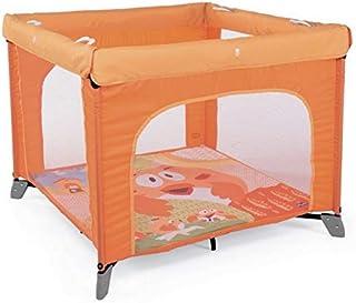 شيكو سرير اطفال المحمولة للعب، برتقالي