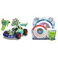 Toy Story 1:24 RC Buggy with Buzz & Disney toy story 3 Piece resusable PP Tableware Set Childrens Bu...