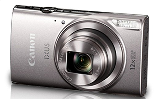Canon IXUS-285 HS 20.2MP Point and Shoot Camera with 12x Optical Zoom(Silver)