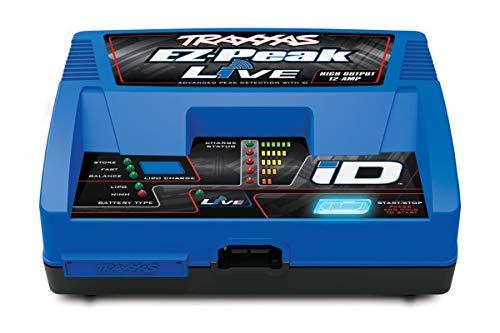 Traxxas EZ-Peak Live Modellbau-Ladegerät 12A LiPo, NiMH Minus-Delta-U Abschaltung, Akkuerkennung, T