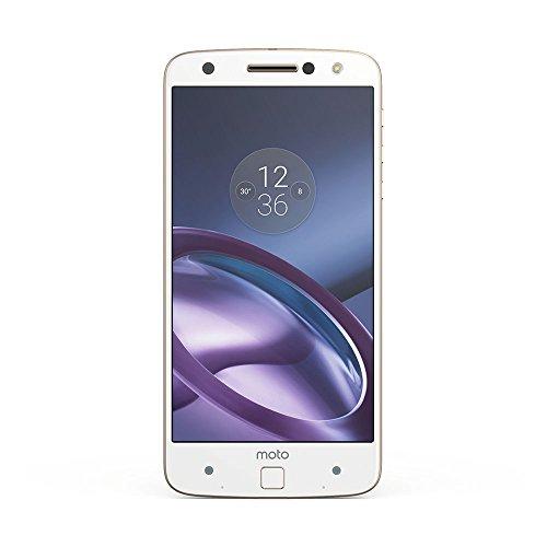 Motorola Moto Z Smartphone (14 cm (5,5 Zoll), 32 GB, Android) Weiß/Fine Gold