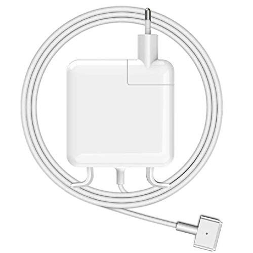 SunMac Chargeur Mac Book Pro 45W, Mag Safe 2 Chargeur Compatible avec Mac Pro 11'' 13'' 15'' Pouces 2012 2013 2014 2015, Mac Pro Retina A1425, A1502, A1424 A1290,A1343,A1226 et Plus Modèles Mac