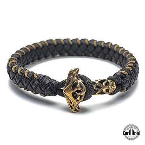 Wikinger Paracord Armband der Extraklasse - Thor Hammer Armband, geflochten, wikinger, Wickinger Armband, thor ragnarok, Wikingerschmuck