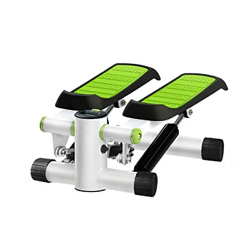 XYLUCKY Mini Steppers para Ejercicio, Máquina De Ejercicios Multifunción para Subir Escaleras Portátil con Pantalla LCD, para Principiantes Y Profesionales
