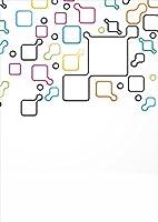 igsticker ポスター ウォールステッカー シール式ステッカー 飾り 841×1189㎜ A0 写真 フォト 壁 インテリア おしゃれ 剥がせる wall sticker poster 006814 その他 カラフル 模様