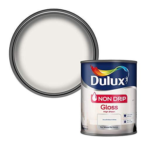 Dulux 750ml Non Drip White Gloss [Misc.]