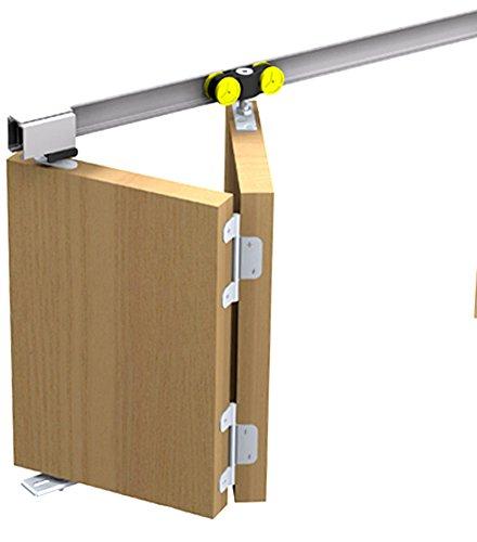 Mantion Schiebetürbeschlag Tango 40-110MA für 1 Falttür Faltschiebetür bis 110 cm