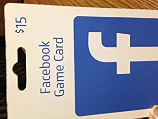 Facebook - $15 Gift Card for Facebook Games and Apps