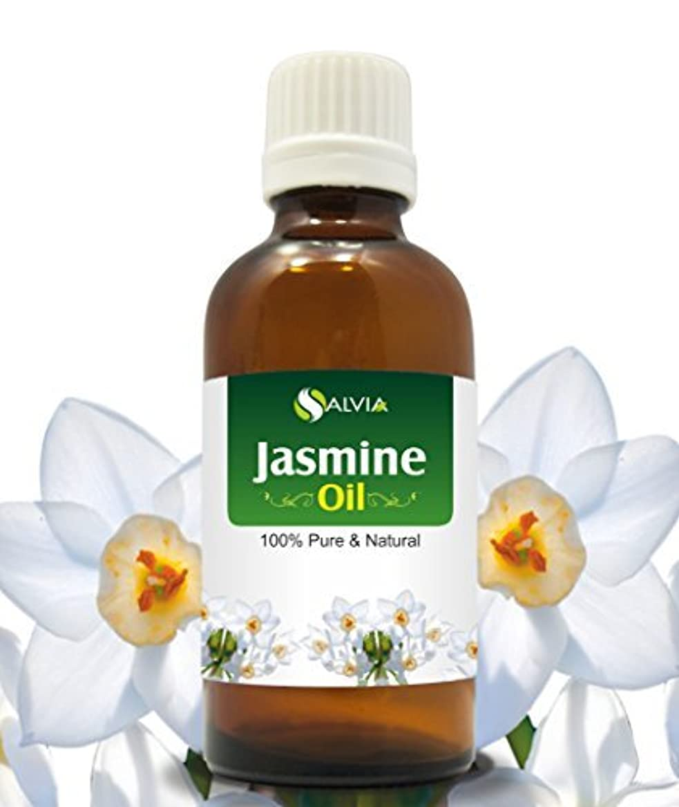 完璧なカタログ運動JASMINE OIL 100% NATURAL PURE UNDILUTED UNCUT ESSENTIAL OILS 15ml by SALVIA