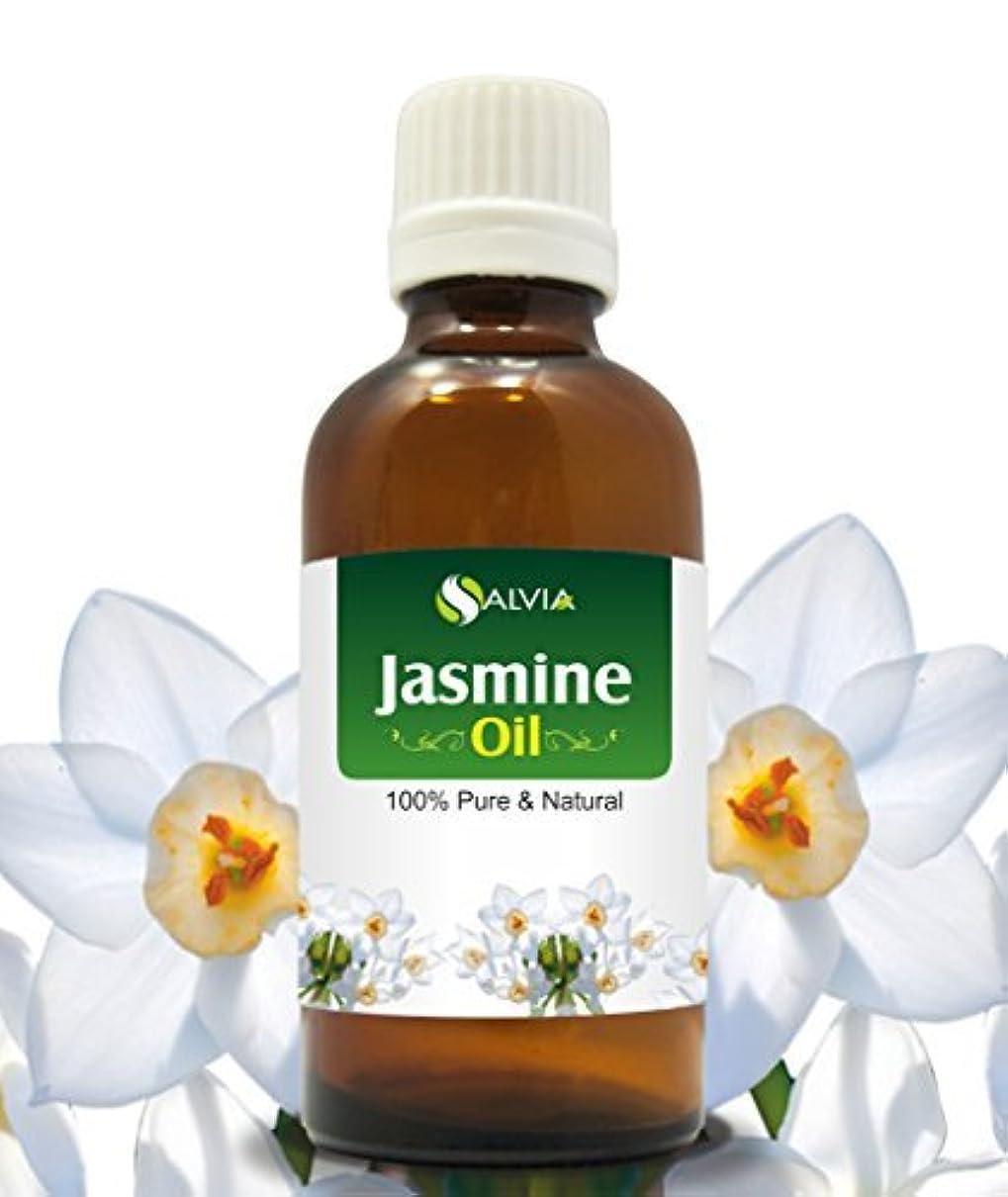 薬局変動する栄養JASMINE OIL 100% NATURAL PURE UNDILUTED UNCUT ESSENTIAL OILS 30ml by SALVIA