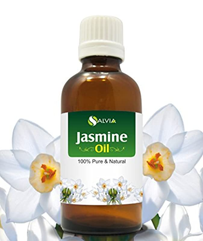 手書き平手打ちうまくいけばJASMINE OIL 100% NATURAL PURE UNDILUTED UNCUT ESSENTIAL OILS 15ml by SALVIA