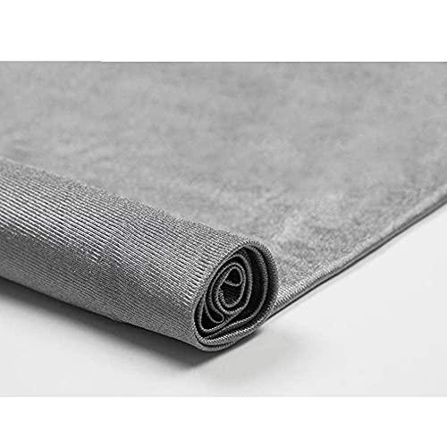 MOZHANG Tela Anti-Radiación de Fibra de Plata 100%, RFID/emi/RF Bloqueo de la Onda de Radio/microondas Tela de Escudo Elástico y Tejido Material antiestático (tamaño: 1,5 * 7M) (Size : 1.5 * 1m)