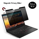 KONEE Magnetic Privacy Filter | Laptop Blickschutzfilter | Notebook Privacy Screen Filter fur 15.6 Zoll Laptop, Magnetischer Sichtschutz – 15.6 Zoll 16:9