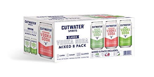 Cutwater Vodka Soda Variety 8 pk 12 fl oz can