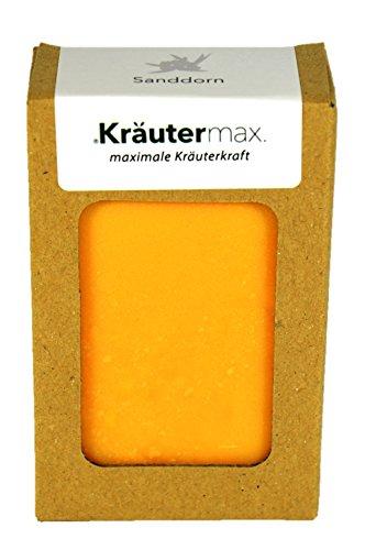 Sanddorn Seife 100% Natur mit Sanddornöl und Sanddornduft Naturkosmetik 1 x 100 g