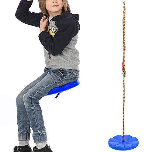Huairdum Romantic Valentine's Day Adult Swing Hanging, swings Children Outdoor Indoor Climbing Swing Hanging Plate, Climbing Rope Tree Swing Indoor Outdoor Disc Hanging Seat Playing Equipment Chil