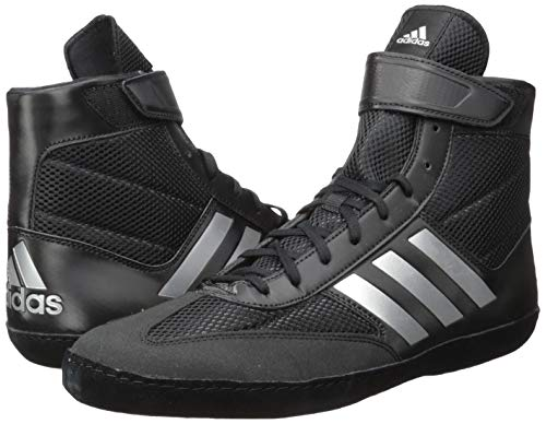 adidas Men's Combat Speed.5, Silver Metallic/Black, 10.5 M US
