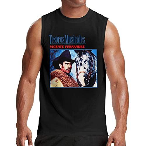 Lsjuee Camiseta sin Mangas del Chaleco del Tanque del músculo de los Hombres Camiseta Ligera del Culturismo