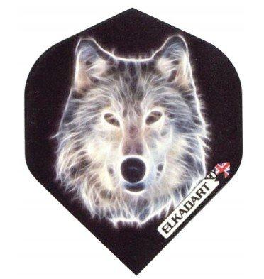 Plumas elkadarts standard extra extra strong spirit wolf