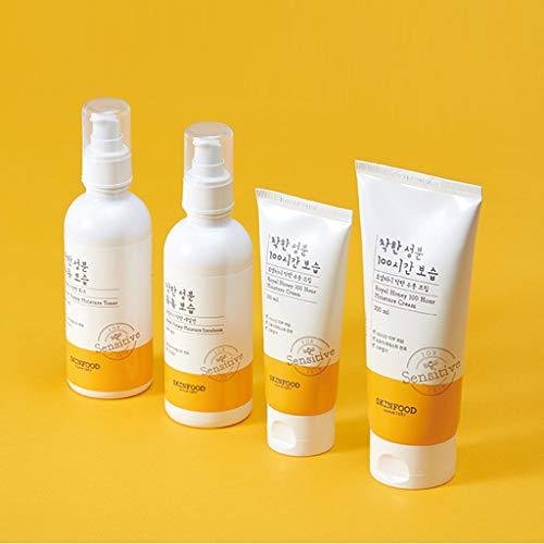 Skin Food Royal Honey Moisturizer Application