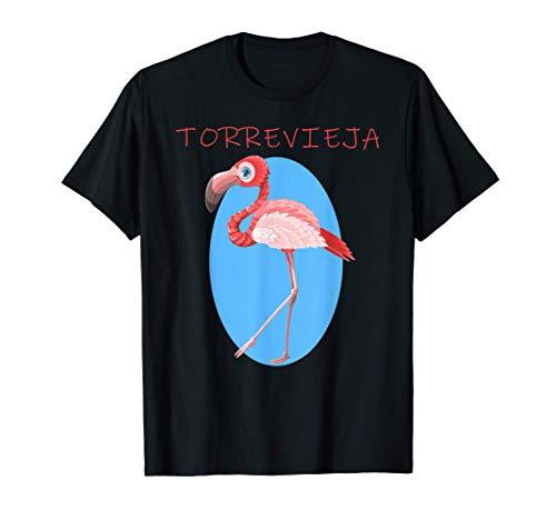 Torrevieja España Flamingo Design Camiseta