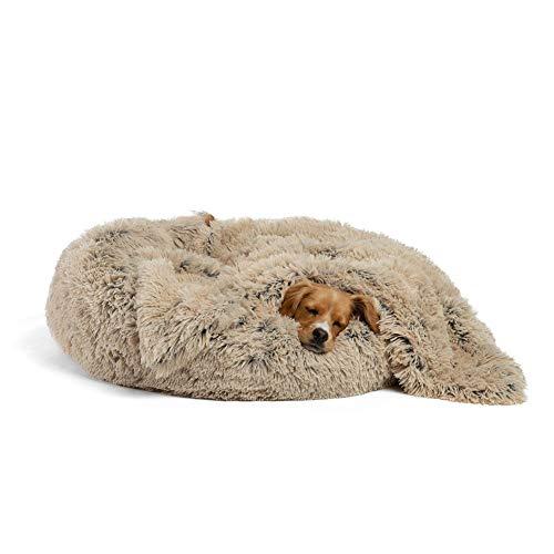 Findm Store Ultraweiches Hundesofa Größe mit XS/S/M/L/XL/XXL Orthopädisches Hundebett mit Hundedecke, Weiche Plüsch Tierkissen Hygienisch, rutschfest, Waschbar Haustier Matte Matratze