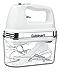 Cuisinart HM-90S Power Advantage Plus 9-Speed Handheld Mixer with Storage Case, White (Renewed)