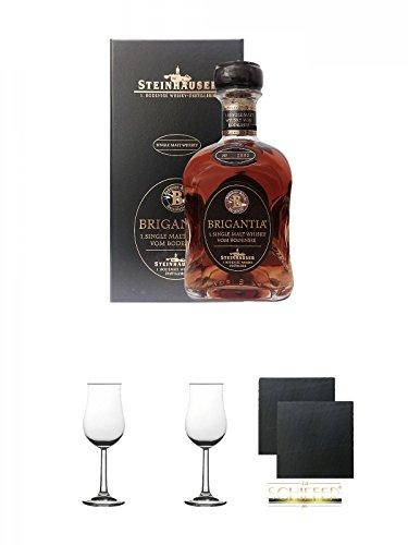 Steinhauser Brigantia Whisky Deutschland 0,7 Liter + Geschenkset