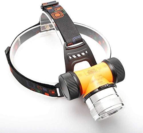 PROFORUS Scuba Dive Head Light LED Diving Headlamp with CREE XM T6 White Light Purple UV Light product image