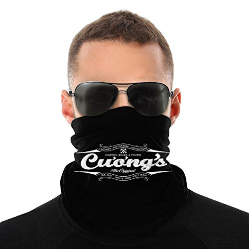Cuongs Archer Unisex Face Mask Neck Gaiter Warmer Headwear Balaclava Bandana For Dust Outdoors