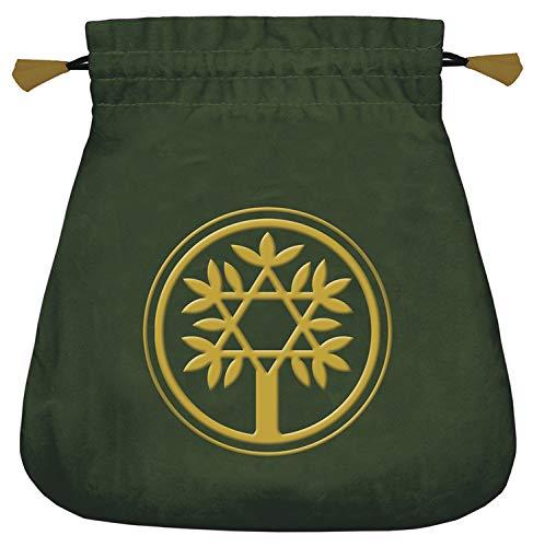 Celtic Tree Velvet Tarot Bag