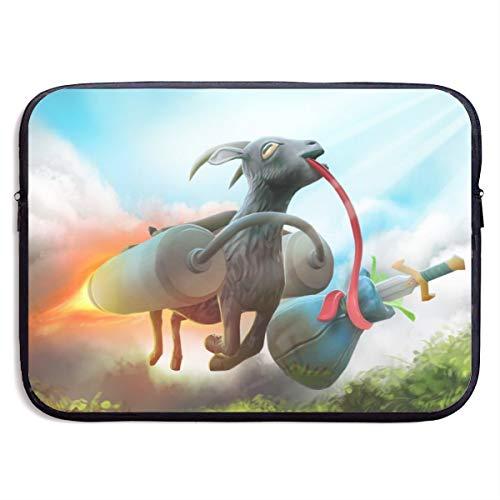Bolso de cabra simulador portátil bolso de la tableta bolso ultra portátil de protección de la computadora