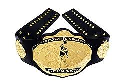 powerful Undisputed Belt Fantasy Football Championship Belt-Thorn (Black / Gold)
