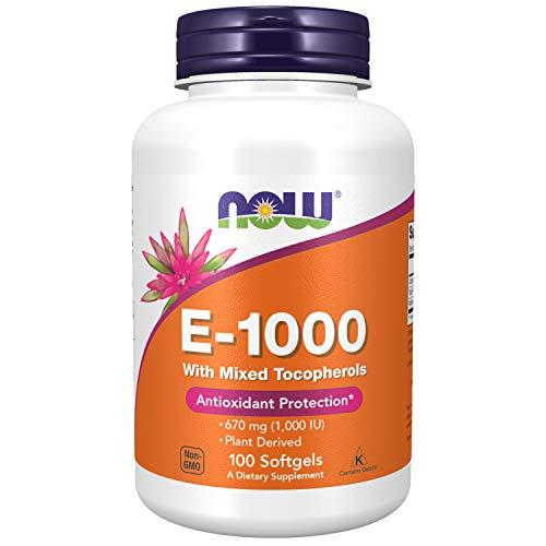 NOW Foods - vitamina E 1000 IU - 100 Softgels