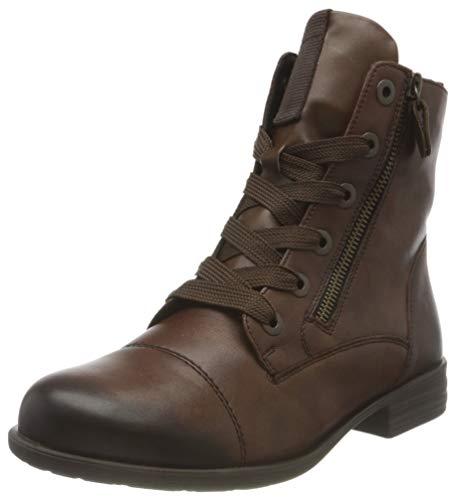 Remonte Damen R0980 Mode-Stiefel, palisander/palisander / 24, 41 EU