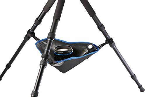 Novoflex Triopod Stativ-Zubehörtasche mit verstellbaren Klettverschlussbändern Für zusätzliche Stabilität bei Wind und unebenem Untergrund geeignet (Trio-TC)