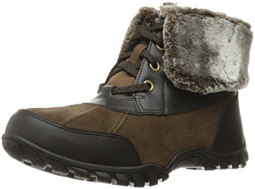 Easy Spirit Women's Nuria Snow Boot, Medium Brown/Multi Suede, 7 M US