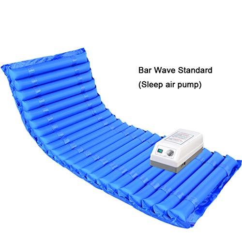 NYPB Luftdruckmassage Matratze Anti-Dekubitus, Wechseldruckmatratze Und Pumpensystem bei älteren, Behinderten und Bettlägerigen Patienten Wasserdicht und Atmungsaktiv,B1